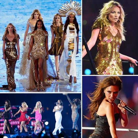 Supermodels and the Spice Girls Give the Games Its Golden Finale