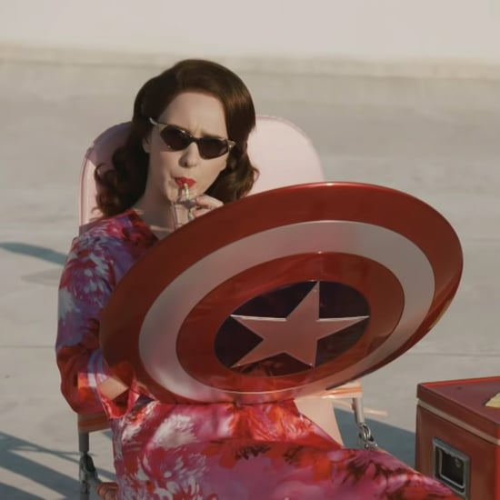 Marvel Meets Mrs. Maisel in This Late Late Show Spoof