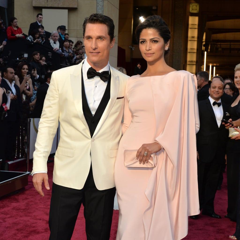 Matthew McConaughey at the 2014 Oscars