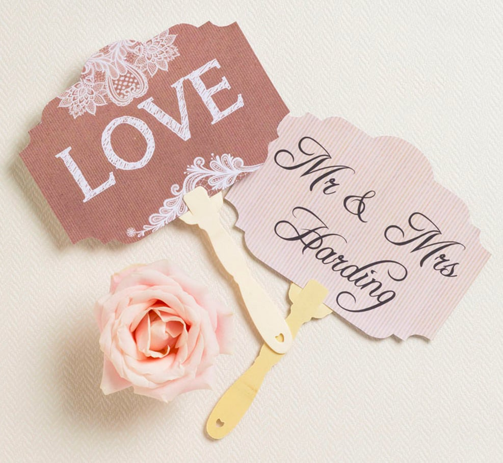 free wedding photo booth printables popsugar smart living