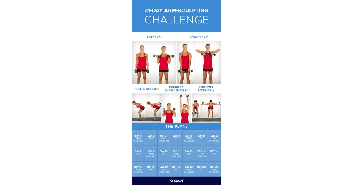 The 3-Week Plan | 21-Day Arm Challenge | POPSUGAR Fitness ...