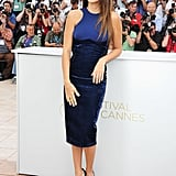 Penelope Stunning in Skintight Stella With Johnny by Her Side For Cannes Pirates Photo Call