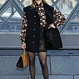 Léa Seydoux at Louis Vuitton Fall 2019