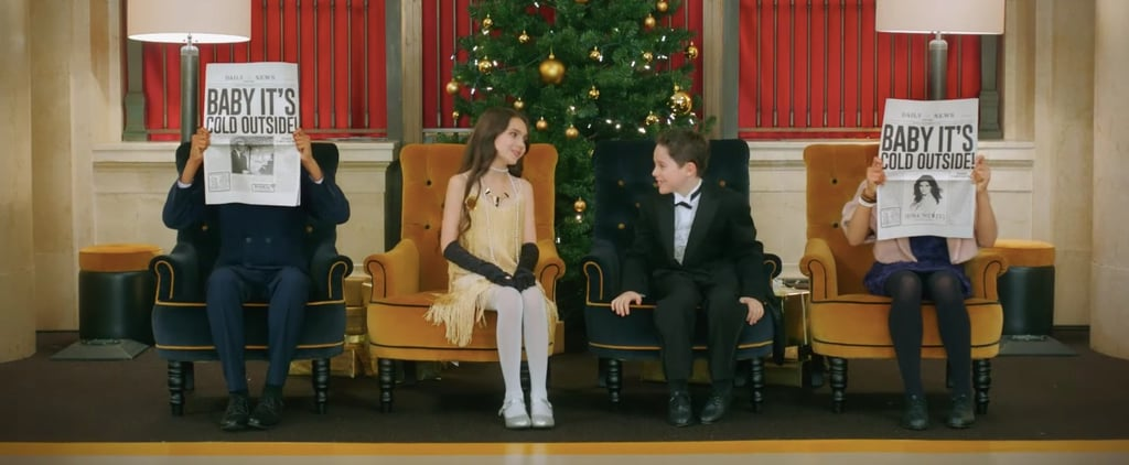 Idina Menzel and Michael Buble Baby It's Cold Outside Video
