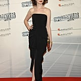 Anne was super slick in a black strapless at the 2008 Get Smart Premiere in Madrid.