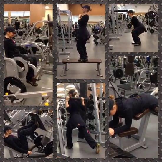Thalia's Fitness Video 9