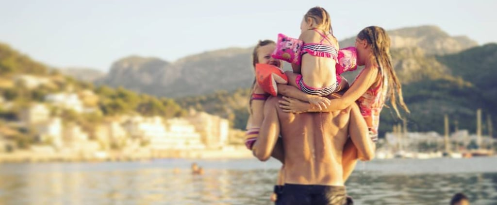 Cute Photos of Kids on Dads' Shoulders