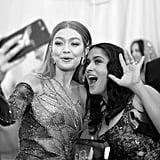 Gigi Hadid and Salma Hayek