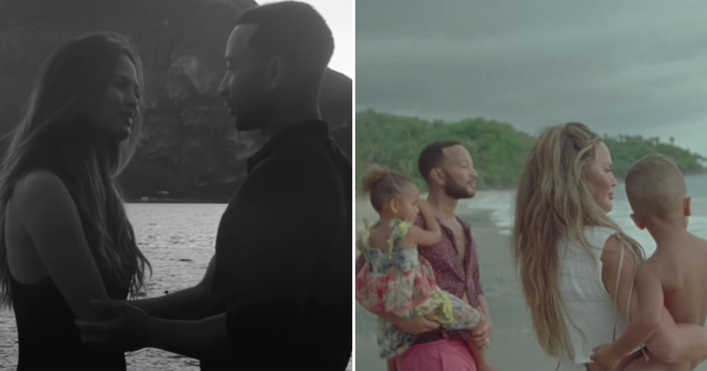 John Legend's Music Videos With Chrissy Teigen and Kids