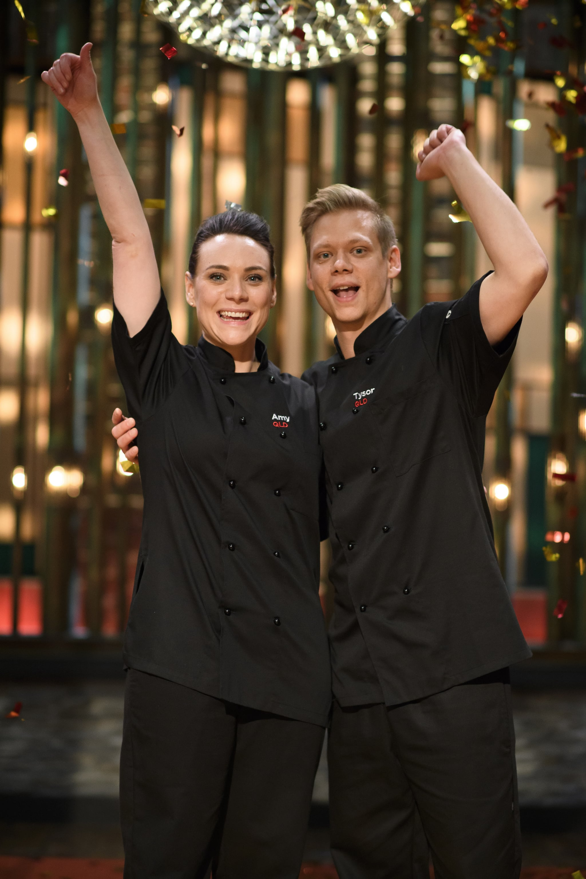 My kitchen rules 2017 winners amy and tyson popsugar for Y kitchen rules season 6