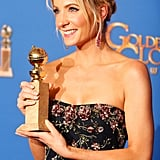 Joanne Froggatt at the Golden Globes 2015
