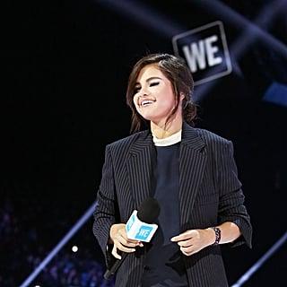 Selena Gomez Wearing a Suit April 2019