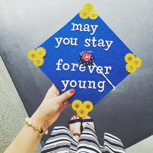 graduation cap quote ideas popsugar smart living
