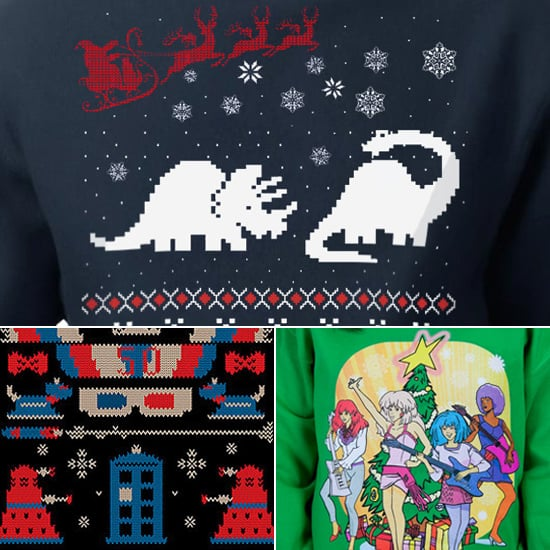 Geeky Ugly Christmas Sweaters Popsugar Tech