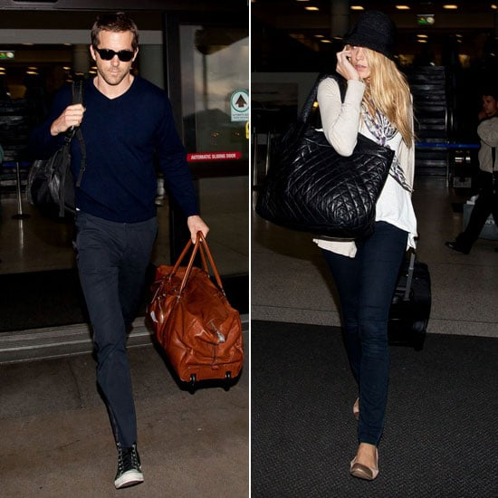 Blake Lively and Ryan Reynolds Head West Together