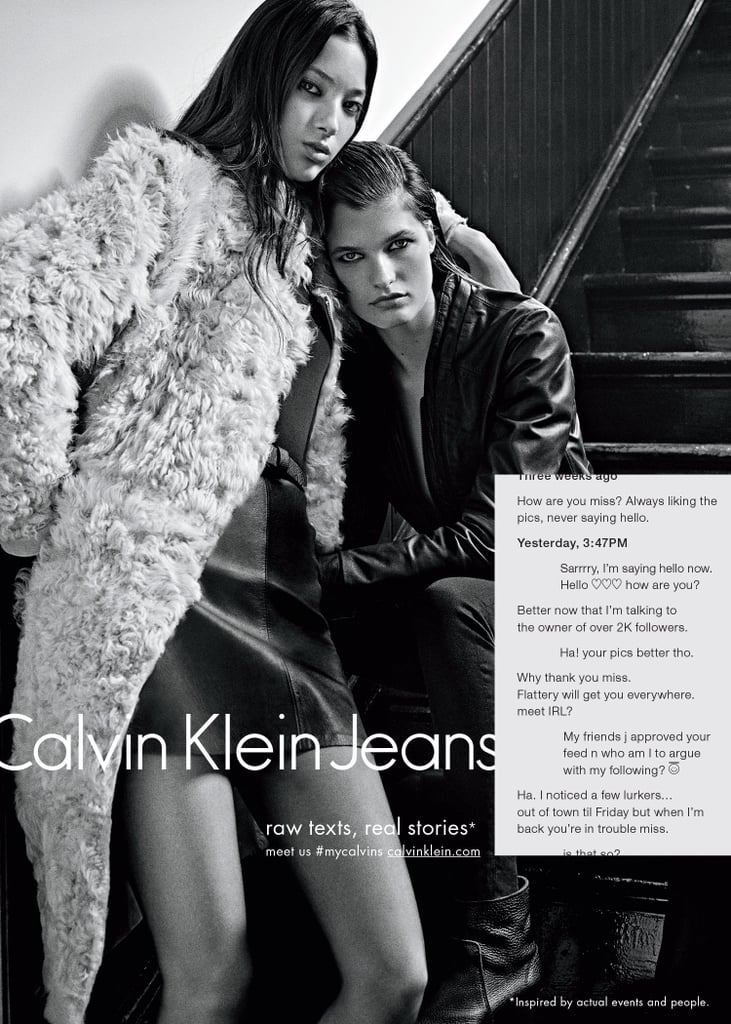 Calvin Klein's New Ads Are Like a Tinder Date Gone Very Wrong (or Right)