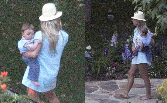 Britney Unwillingly Shares Jayden James with the World