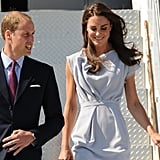 Prince William and Kate Middleton arrive in California.