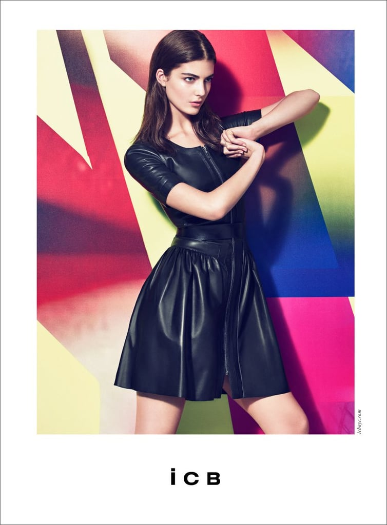 This is one fierce leather LBD courtesy of ICB.