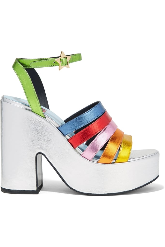 These MR by Man Repeller Platform Sandals ($520) are quirky and sturdy.