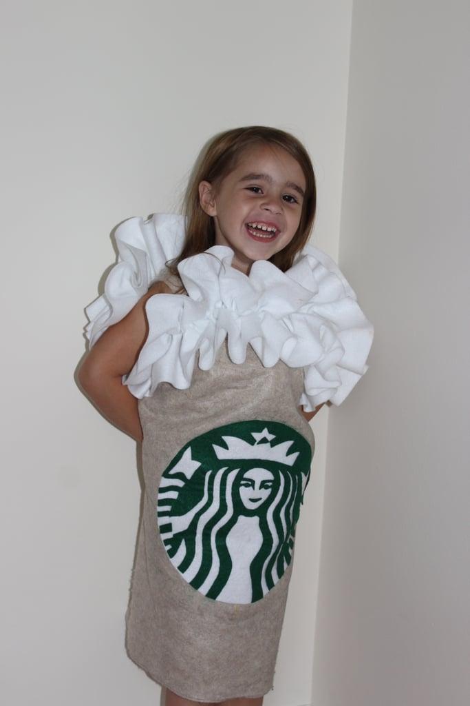 Diy Starbucks Frappuccino Costume For Kids Popsugar Family