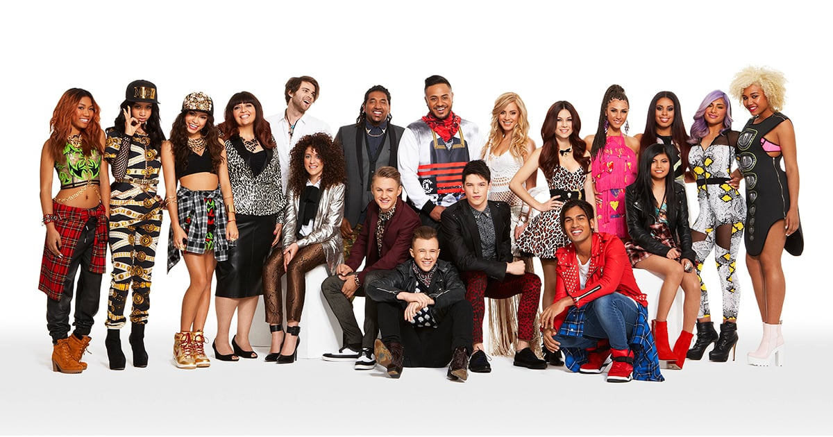 the x factor australia 2014 top 13 acts and contestants