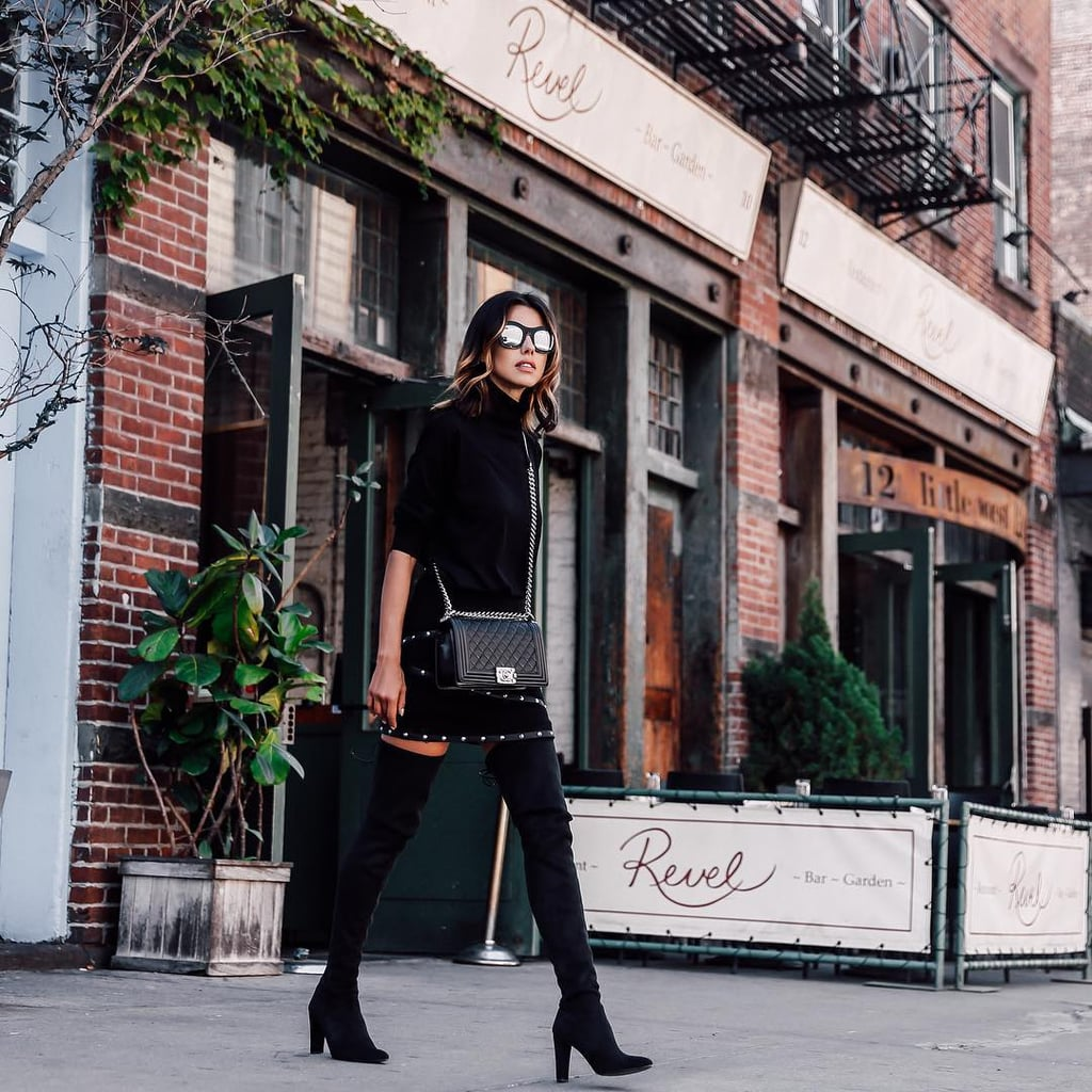 Wear a Nonbasic All-Black Look