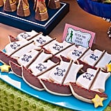 Pirate Ship Cookies