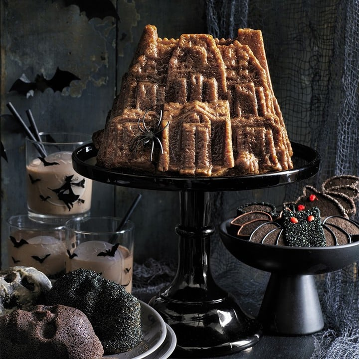 Nordicware Haunted House Bundt Cake Pan Williams Sonoma