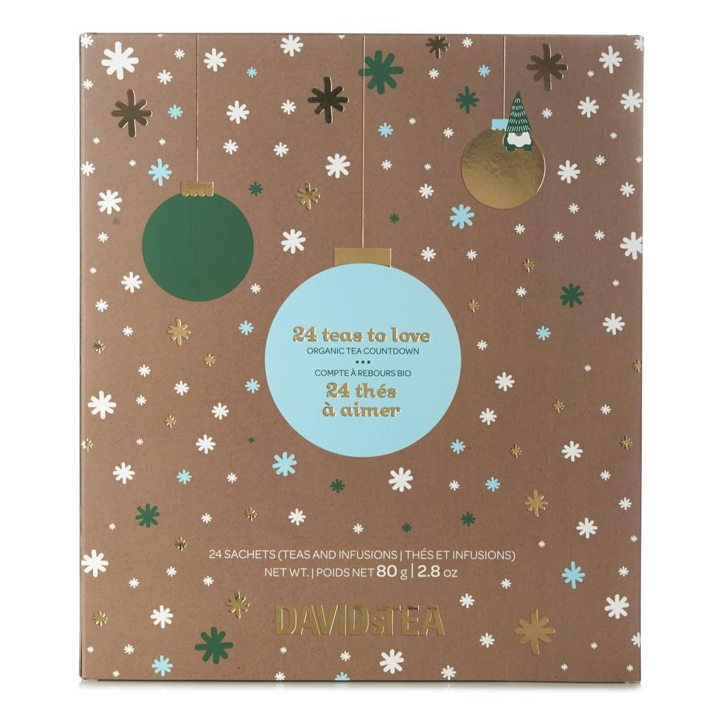 24 teas to love 32 david 39 s tea advent calendars 2018. Black Bedroom Furniture Sets. Home Design Ideas