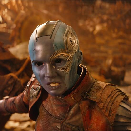 Who Plays Nebula in Avengers: Infinity War?
