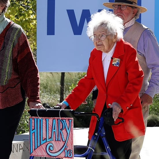 100-Year-Old Women Vote For Hillary Clinton | Video