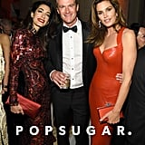 Pictured: Amal Clooney, Rande Gerber and Cindy Crawford