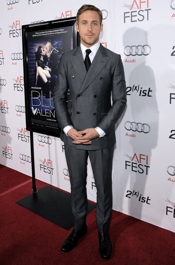 Ryan Gosling Promoting Blue Valentine in LA