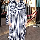 Bryce Dallas Howard brought her baby bump down the red carpet at the Toronto Film Festival.