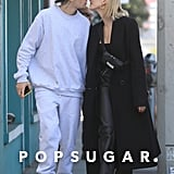 Justin and Hailey Bieber Kissing in LA Pictures March 2020