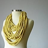Chain Crochet Scarf Necklace