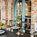 Brass Details and Floating Balloons Made Sure This Wasn't Just Your Average Garden Wedding