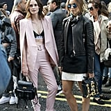 London Fashion Week, Day 1