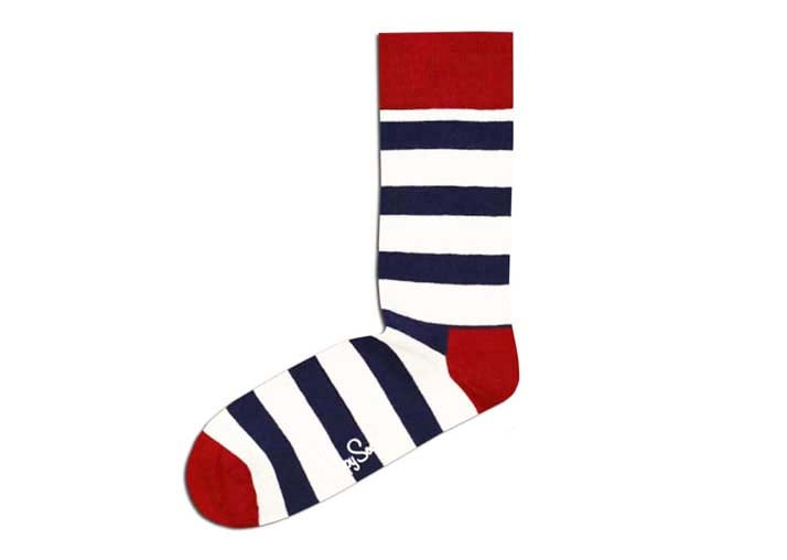 Striped socks don't have to be boring, and this pair from Happy Socks ($12) proves that point perfectly.
