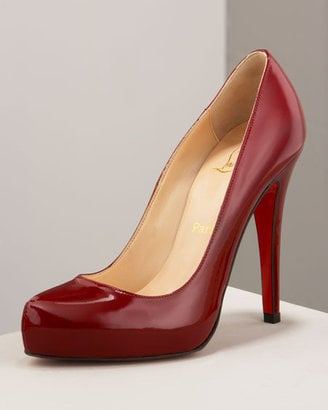 The Look For Less: Christian Louboutin Rolando Platform Pumps