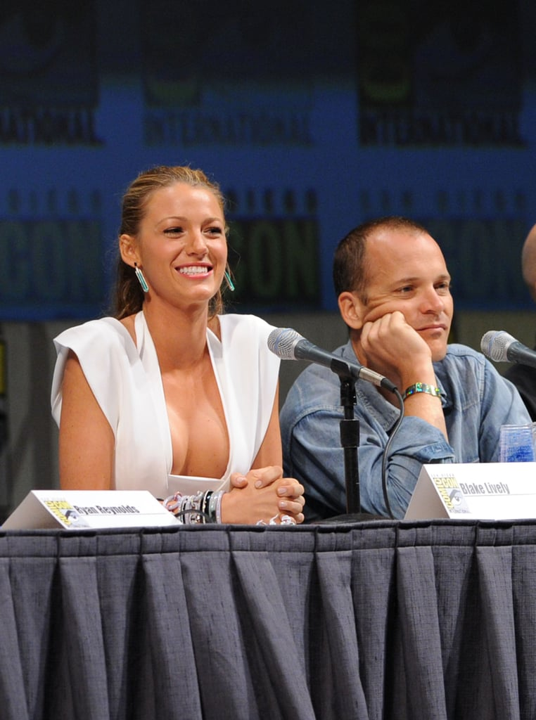 Blake Makes a Big Appearance at Comic-Con With Ryan