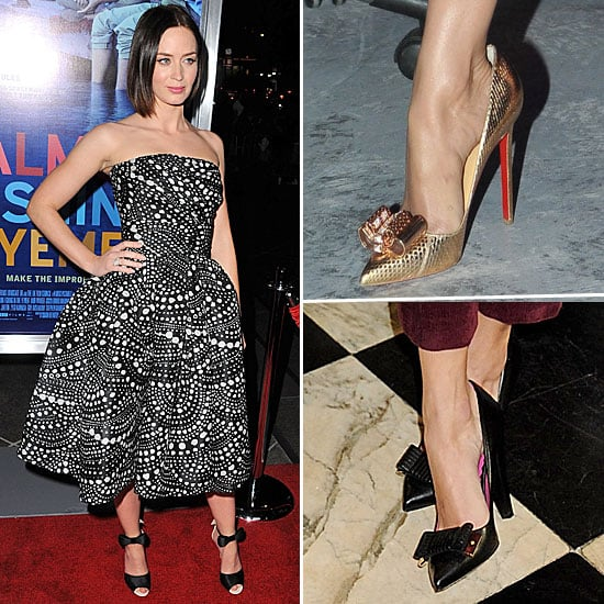 Bow Heels Celebrity Style