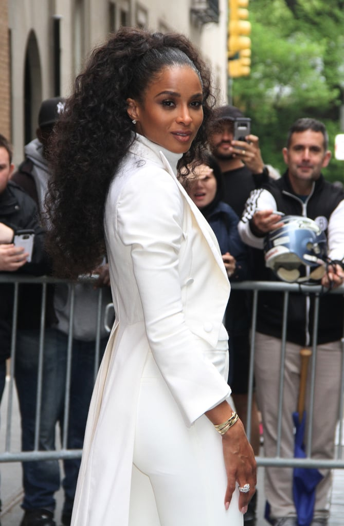 Ciara Natural Hair