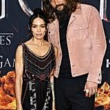 Jason Momoa and Lisa Bonet at Game of Thrones Premiere 2019