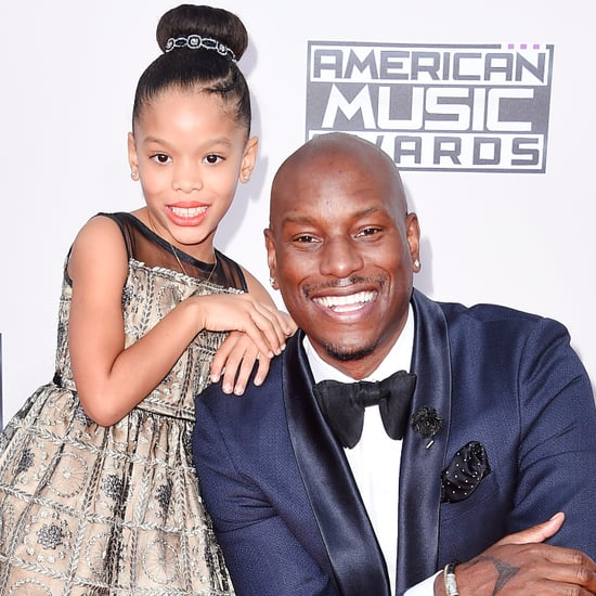 Tyrese Gibson at the American Music Awards 2015