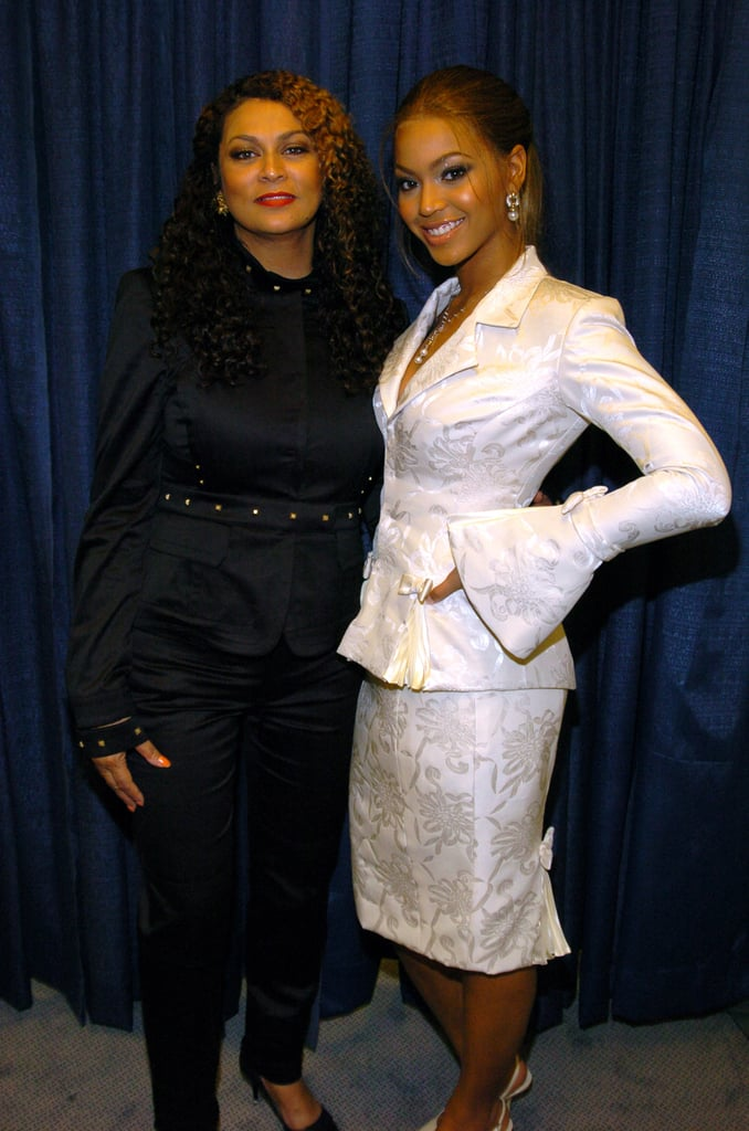Tina and Beyoncé were spotted backstage at Super Bowl XXXVIII in 2004 where the Lemonade singer sang the national anthem that year.