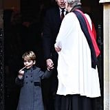 The British Royal Family at Christmas Services 2016