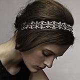 Jennifer Behr Double Crystal Scallop Headwrap
