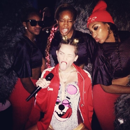 Celebrity Instagram Pictures From MTV VMAs 2013
